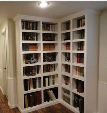 Custom Made Classic Built In Bookcases