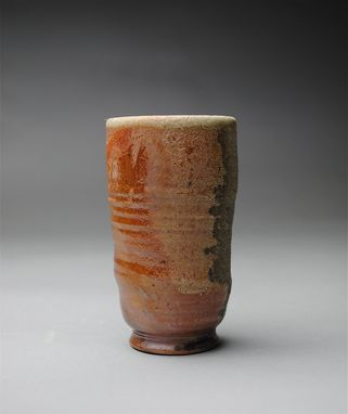 Custom Made Handmade Clay Cup Wood Fired
