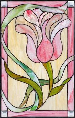 Custom Made Traditional Stained Glass Window