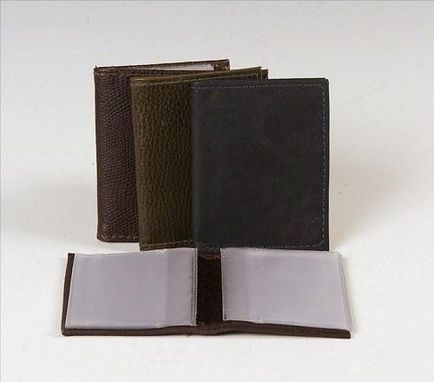 Custom Made Picture/ Card Wallet, Leather