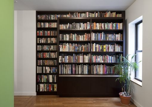 Custom Made Chelsea Bookcase And Home Office