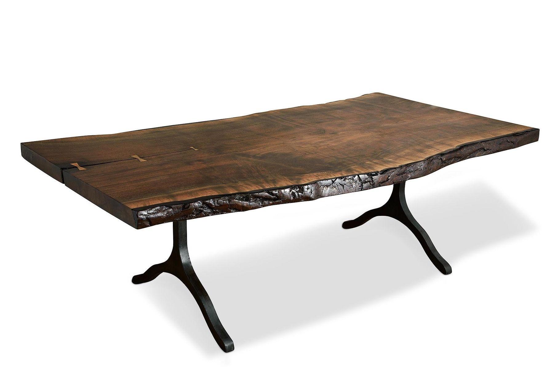 Hand Crafted Big Slab Dining Table by TheRedThreads