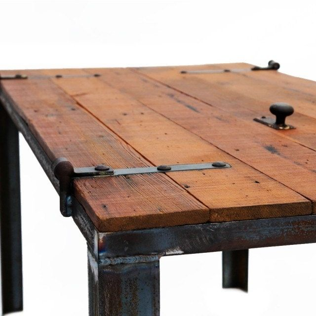 Hand Made Old Barn Door Desk Table
