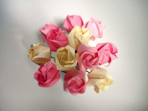 Custom Made Pretty In Pink - Petite Origami Roses