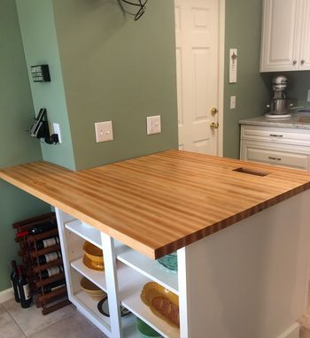 Custom Made Custom Maple Butcher Block