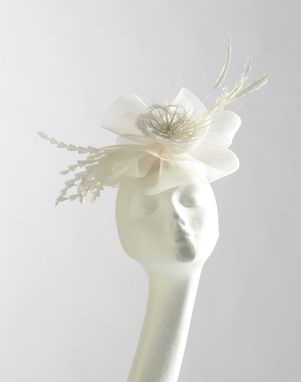 Custom Made Bridal Fascinator