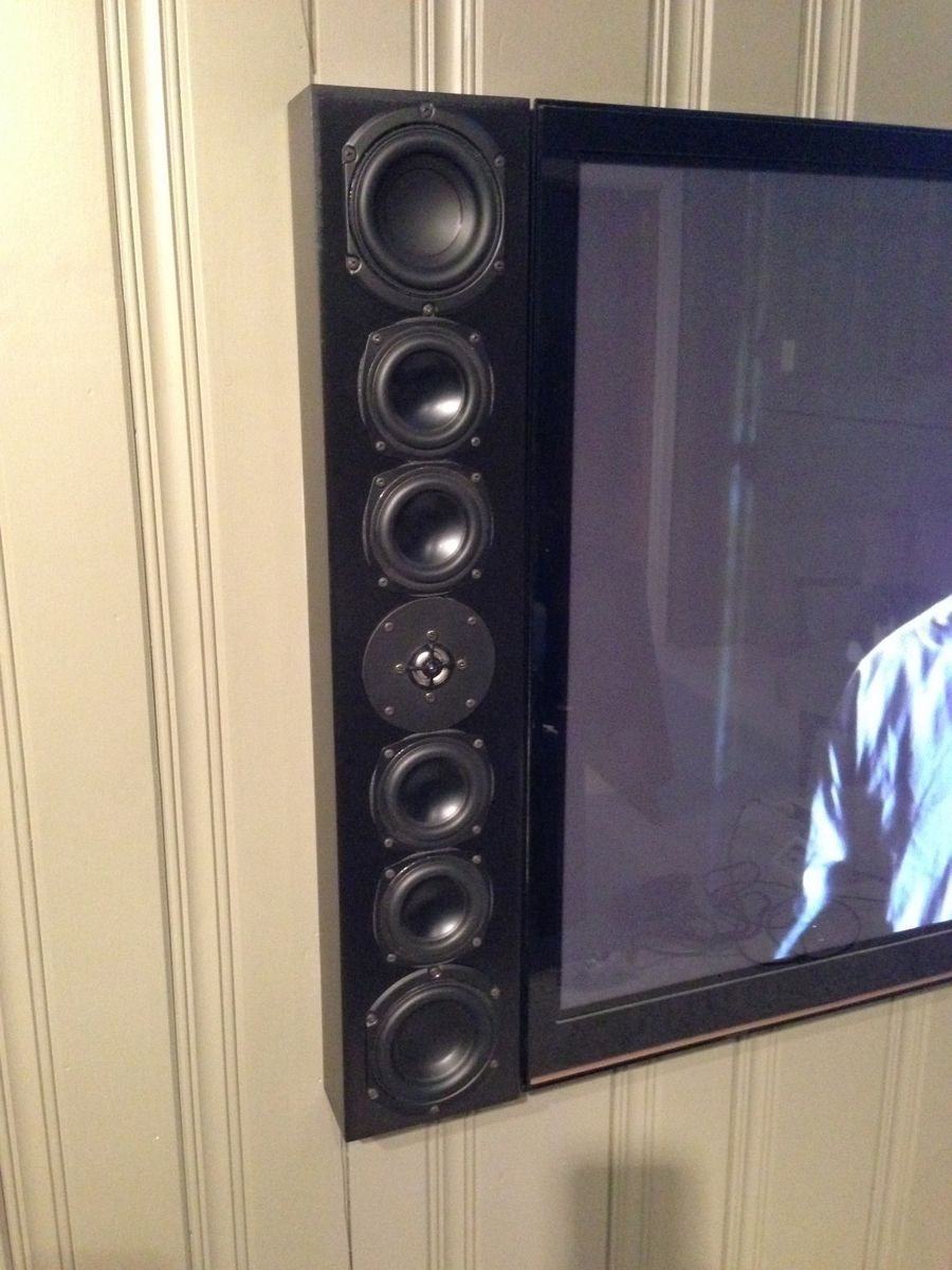 Custom F008 On Wall Tv Speakers By Span Audio Custommade Com