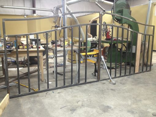 Custom Made Gate - Work In Progress