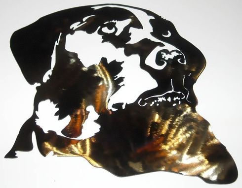 Hand Made Dog Silhouette Wall Art By Superior Iron Artz