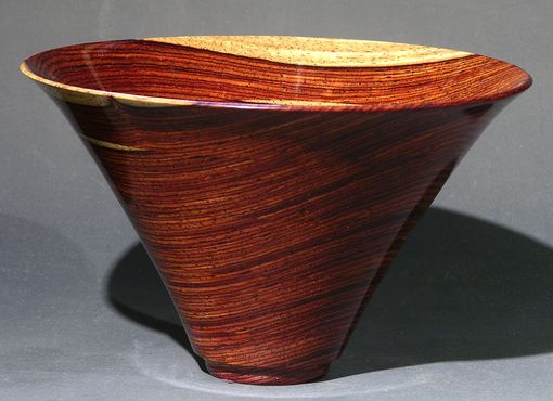 Custom Made Exotic Wood Art Bowl