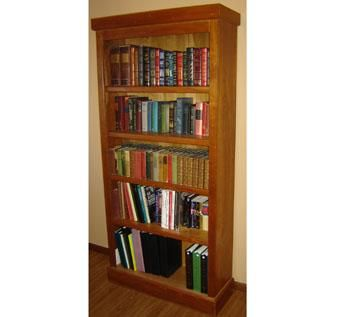Custom Made Tall Bookcase