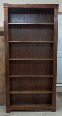 Custom Made Custom Cherry Bookcase