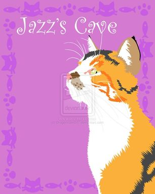 Custom Made Pet Lovers Custom: Jazz's Cave (11x14)