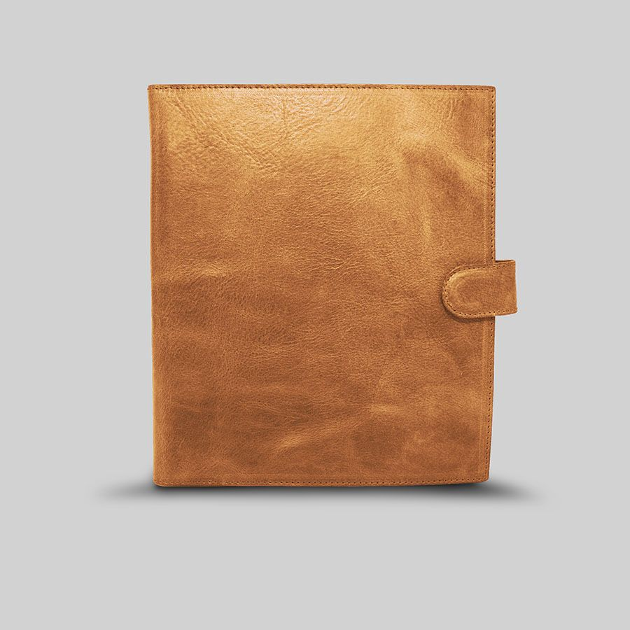 Custom italian leather padfolio by mkn italy llc for Made com italia