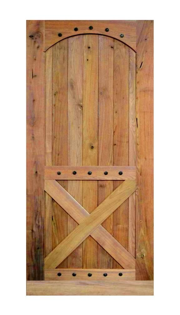 Hand Made Rustic Barn Door With Clavos By Rustic Furniture