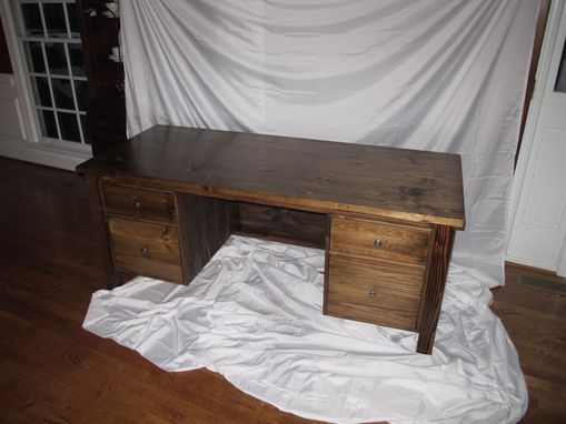 Custom Made Pine Desk