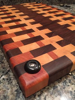 Custom Made Custom End Grain Cutting Board