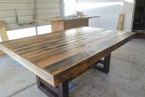 Custom Made Black Spec Barn Table