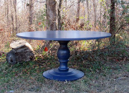 Custom Made Dakota Ball Pedestal Dining Table