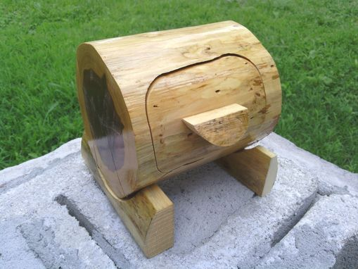 Buy A Hand Crafted Cedar Log Bandsaw Box Made To Order