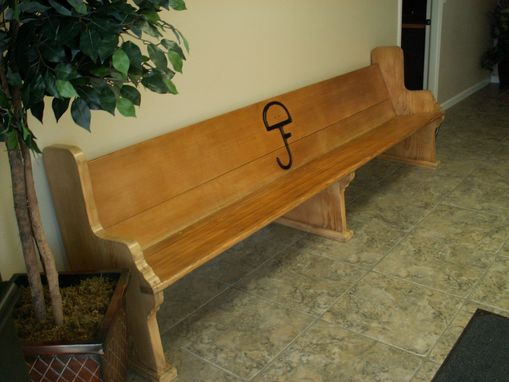 Custom Made Reclaimed Church Pew Bench
