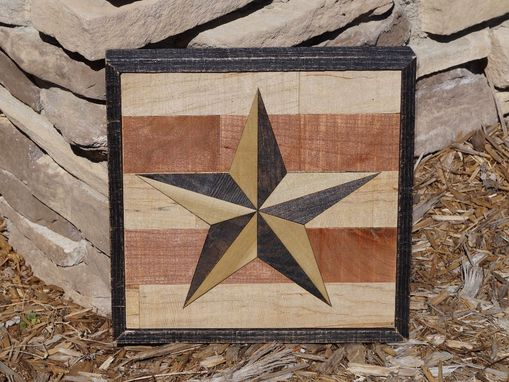 Custom Made Wood Art ~~ Barn Star ~~