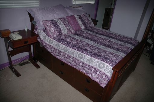 Custom Made Custom Captains Bed
