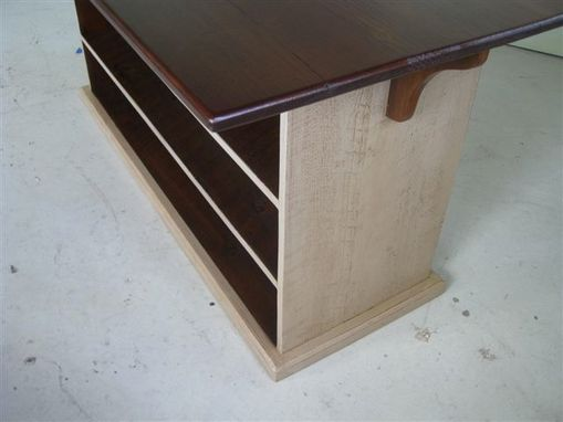 Custom Made Kitchen Island With Cherry Top
