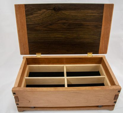 Custom Made Greene & Greene Brothers With Asian Influence Jewelry Box