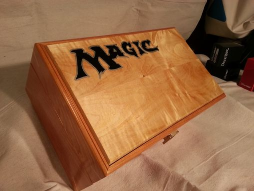 Custom Made Magic Trading Card Game Carrying Case