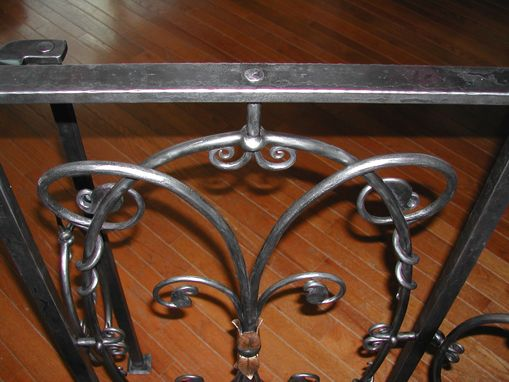 Custom Made Interior Wrought Iron Railings