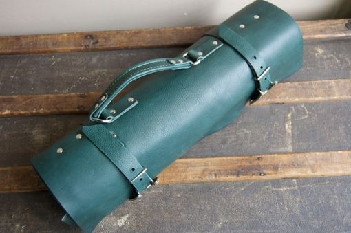 Custom Made Custom Leather Knife Roll