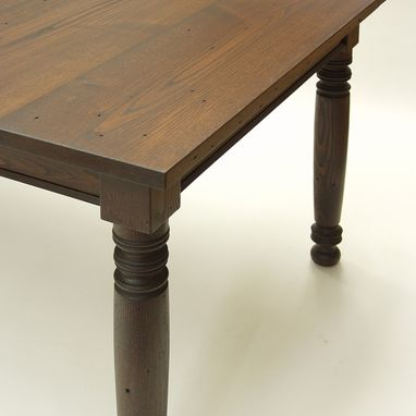 Custom Made Custom Recycled Chestnut Tables