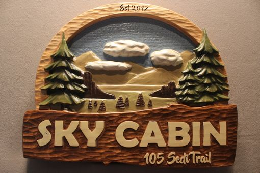Custom Made Custom Carved Cabin Signs, Home Signs, House Signs, Cottage Signs By Lazy River Studio