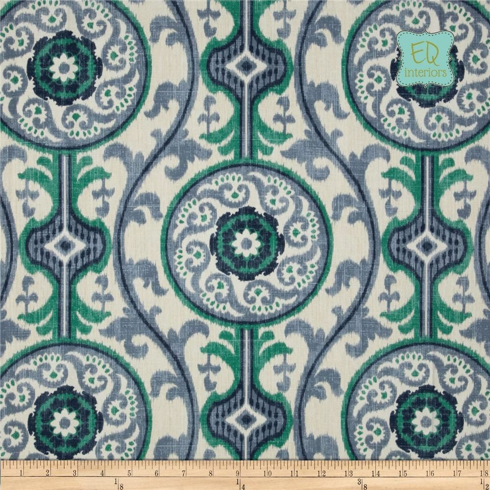 Designer curtain panels - Custom Made 90l X 50w Oh Suzanni Suzani Medallion Scrollwork Custom Designer Curtain Panels
