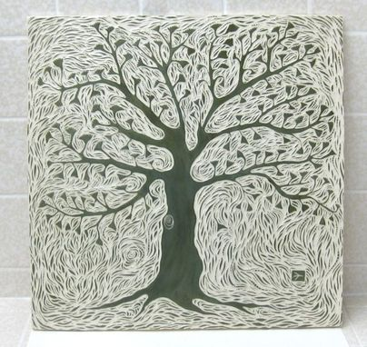 Custom Made Tree Of Life Accent Tile