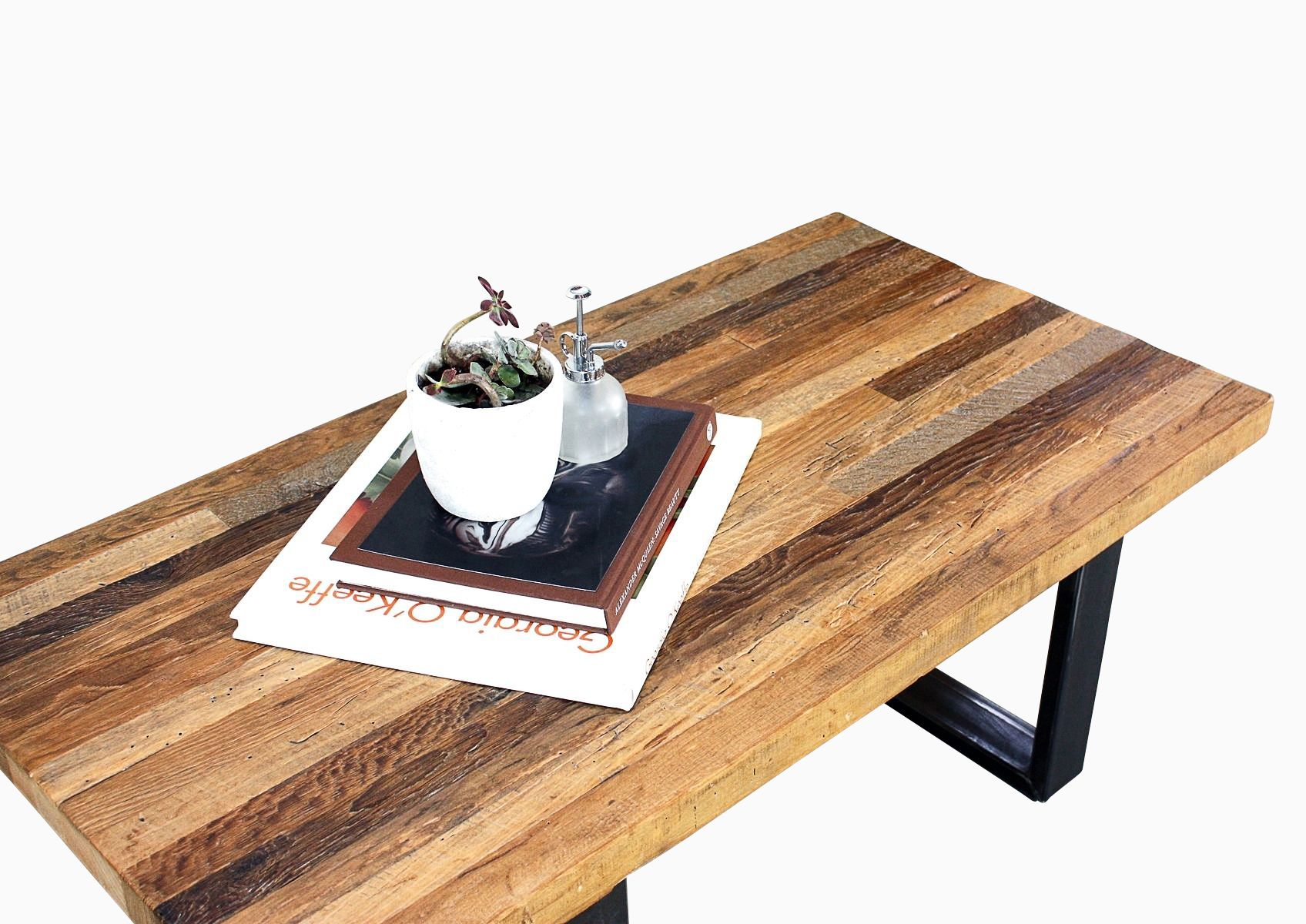 Buy a Hand Crafted Reclaimed Patchwork Timber Coffee Table made