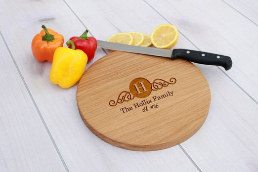 Custom Made Personalized Cutting Board, Engraved Cutting Board, Custom Wedding Gift – Cbr-Wo-Hollisfamily