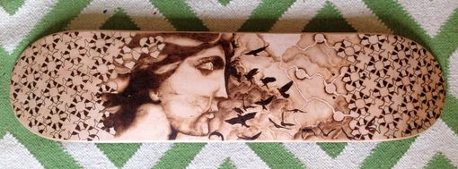 Custom Made Original Pyrography Artwork