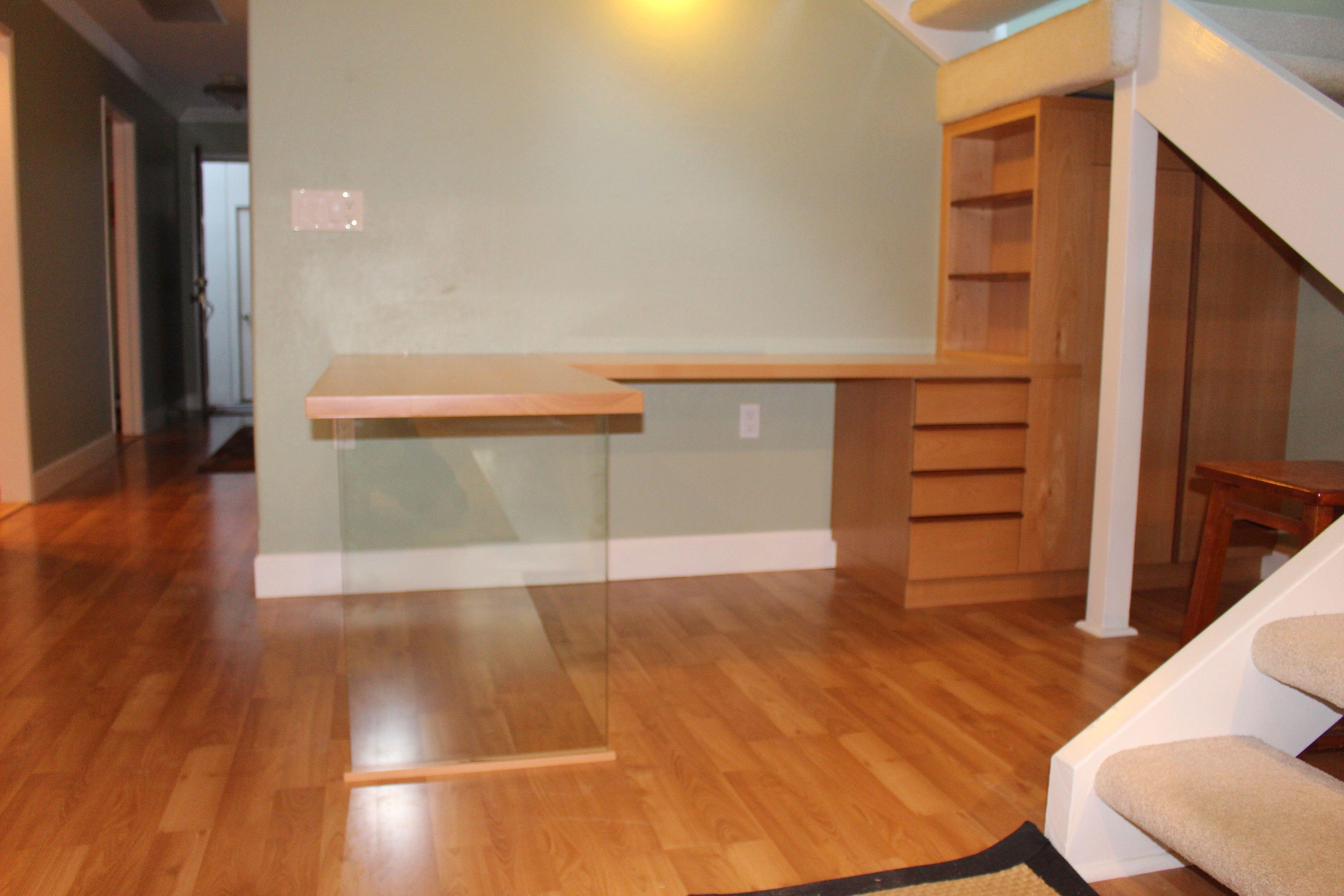 Custom Made Solid Wood Desk