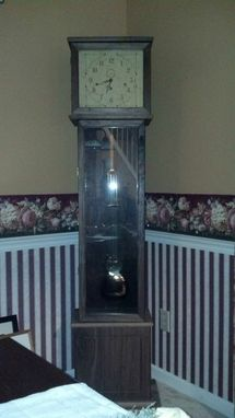 Custom Made Walnut Grandmother Clock