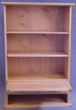 Custom Made Maple Bookcase