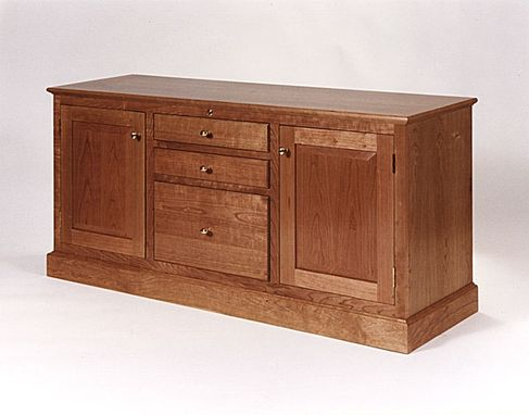 Custom Made Cherry Office Furniture