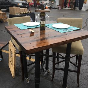 Reclaimed Wood Dining Table By Jason Kersh