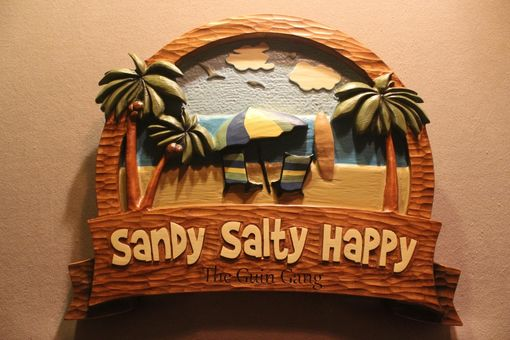Custom Made Beach Signs, Ocean Home Signs, Vacation Home Signs, By Lazy River Studio