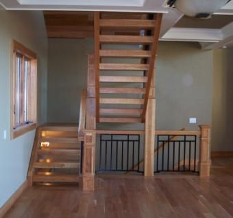 Custom Made Cherry Staircase