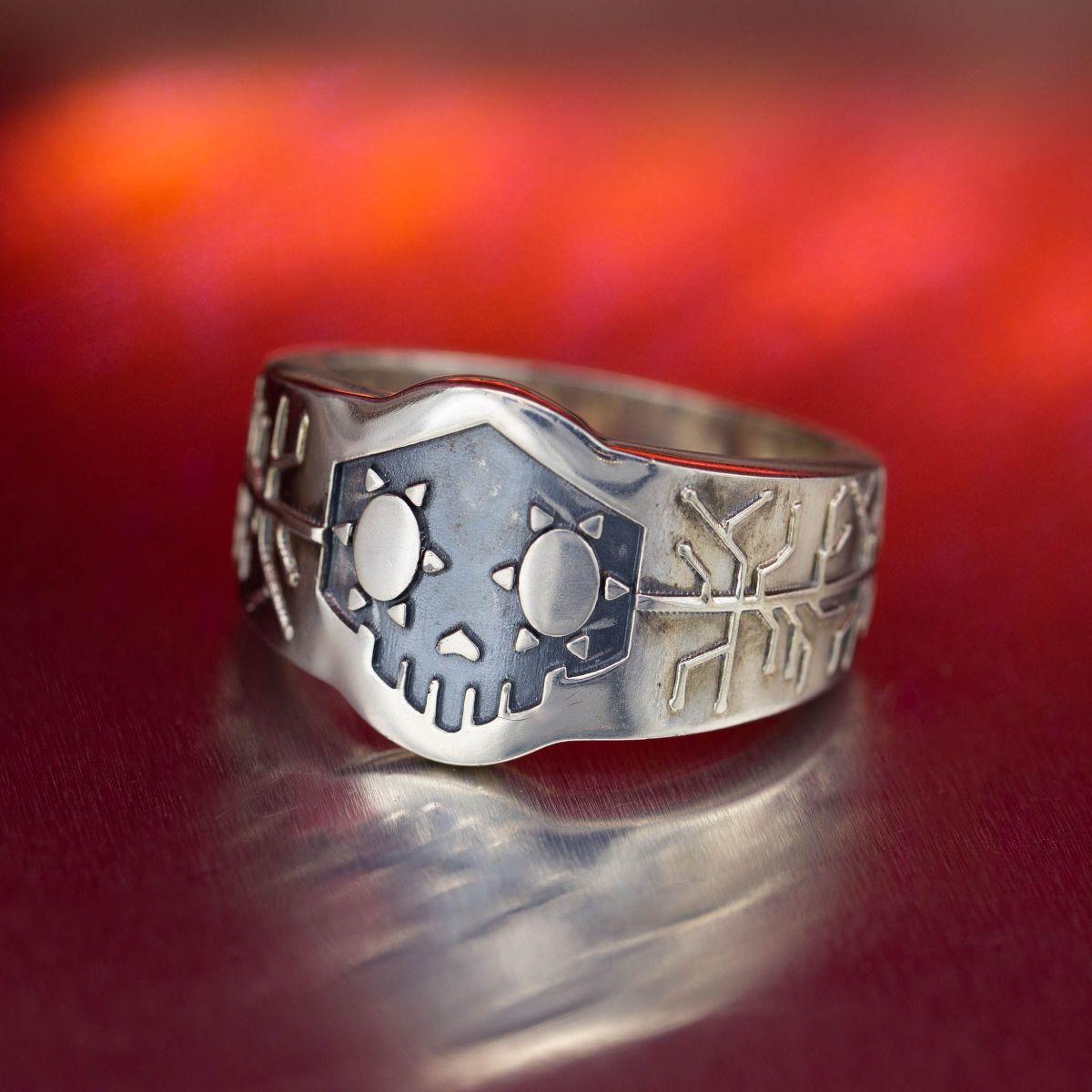 custom biker rings design your own motorcycle club ring. Black Bedroom Furniture Sets. Home Design Ideas