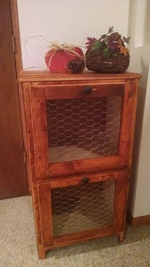 Custom Made Vegetable Organizer/Food Storage