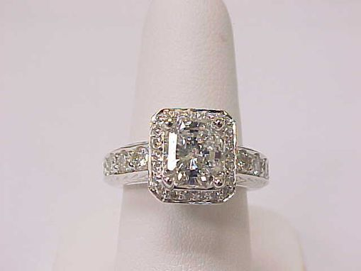 Custom Made Custom Engagement Ring