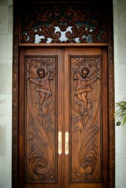 Custom Made Posada Door